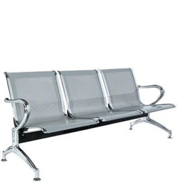 Silver Coated Bench